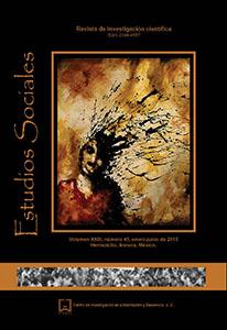 Ver Vol. 23 Núm. 45: Estudios Sociales. Revista de investigación científica